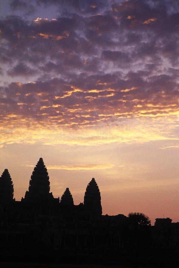 висок khmer Камбоджи angkor стоковое изображение rf