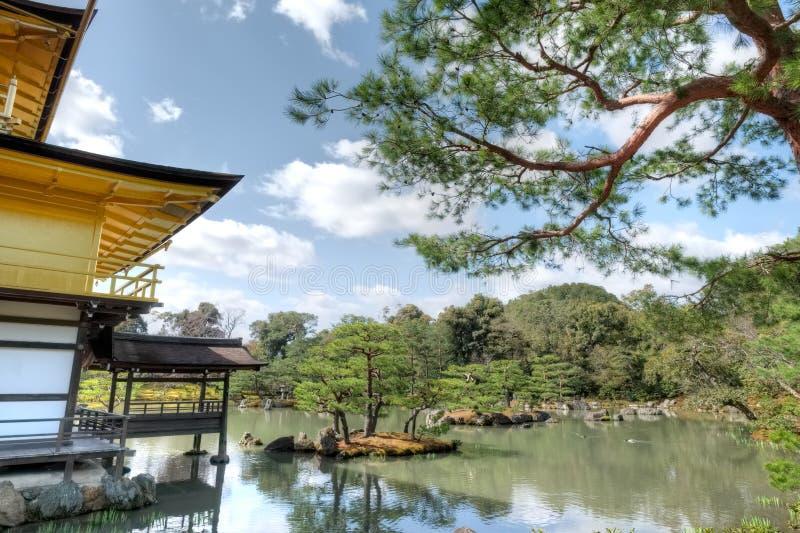 Висок Kinkaku-ji, Киото, Япония стоковое фото