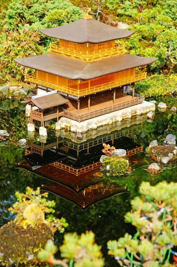 Висок Kinkakuji стоковые изображения