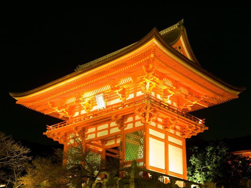 висок kiyomizu стоковые изображения