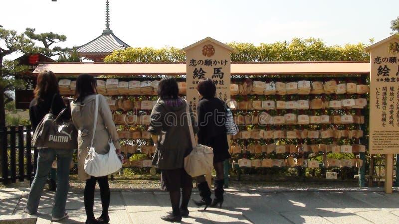 Висок Kiyomizu-dera стоковое фото