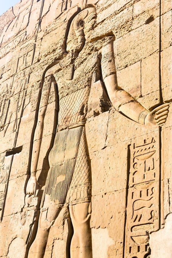 Висок kom Ombo, расположенный в Асуане, Египет стоковая фотография rf