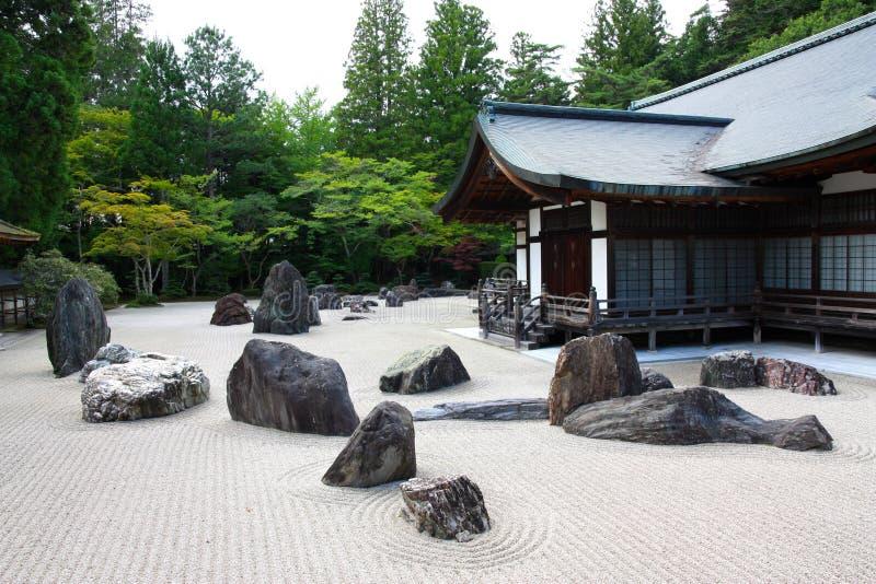 висок kongobuji японии koyasan стоковое изображение rf