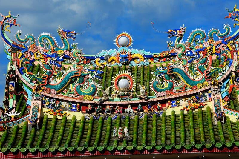 Висок Kongsi япа китайский, Джорджтаун, Малайзия стоковое изображение rf