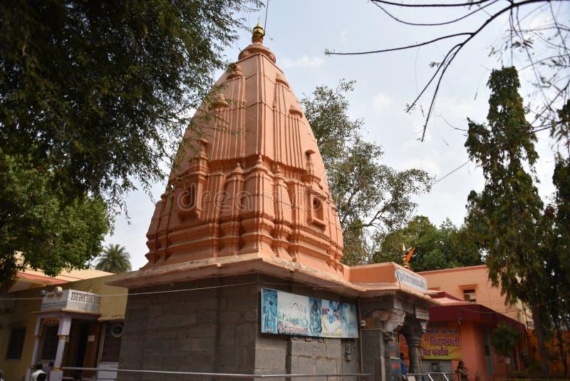 Висок Kundeshwar Mahadev, Ujjain, Madhya Pradesh стоковые изображения rf
