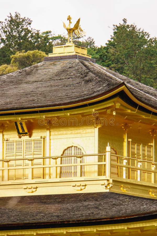 висок kyoto kinkaku ji стоковое изображение rf