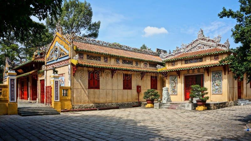 Висок Le Van Duyet, место поклонению истории стоковые фото