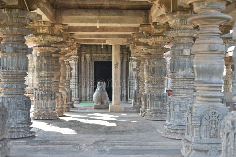 Висок Mahadeva, западное Chalukya, Itagi, Koppal, Karnataka стоковые изображения rf