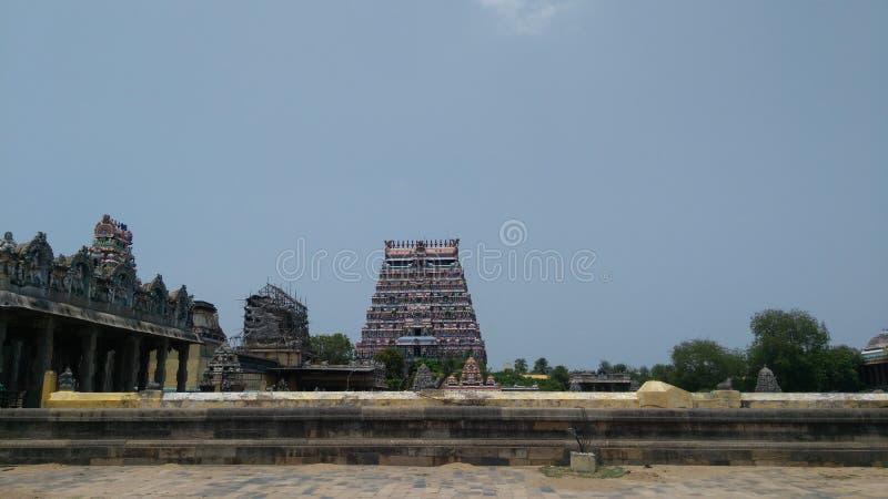 Висок Natrajar стоковое изображение rf