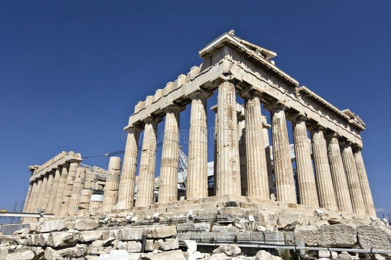 висок parthenon athens Греции стоковое изображение rf