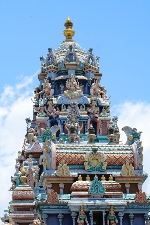висок penang hinduism стоковые фотографии rf