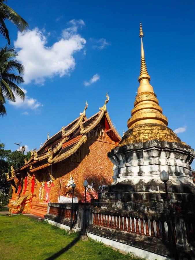 Висок Phrathat Lampang Luang стоковые изображения rf