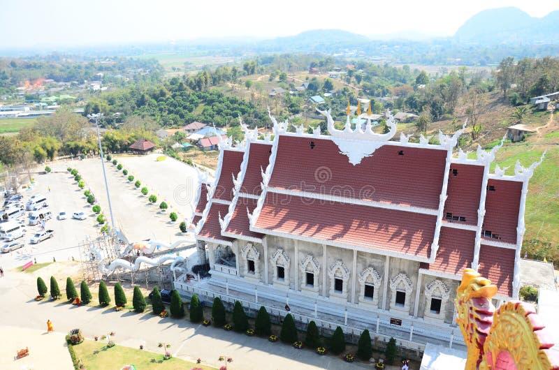 Висок Pla Kang Wat Huay в Chiangrai, Таиланде стоковое фото