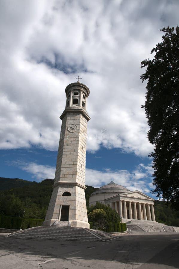 висок possagno canova Италии стоковое фото