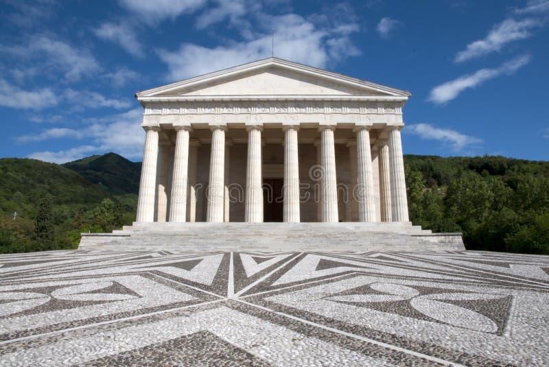 висок possagno canova Италии стоковые изображения