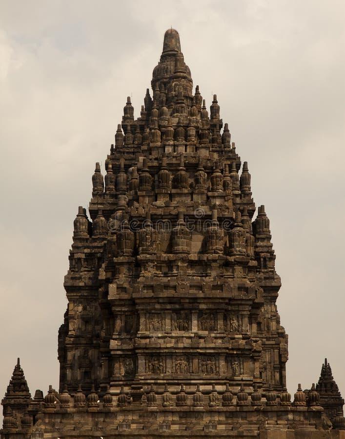 Висок Prambanan индусский, Индонезия стоковые изображения rf