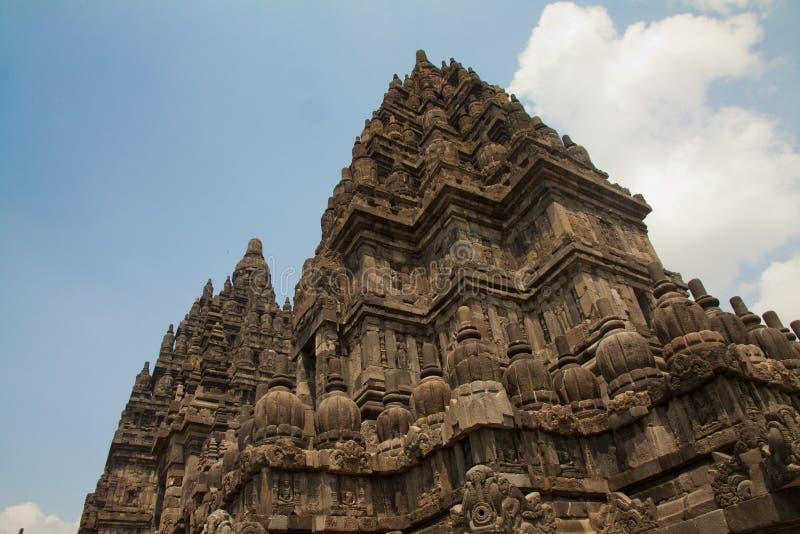 Висок Prambanan индусский, Индонезия стоковое фото rf