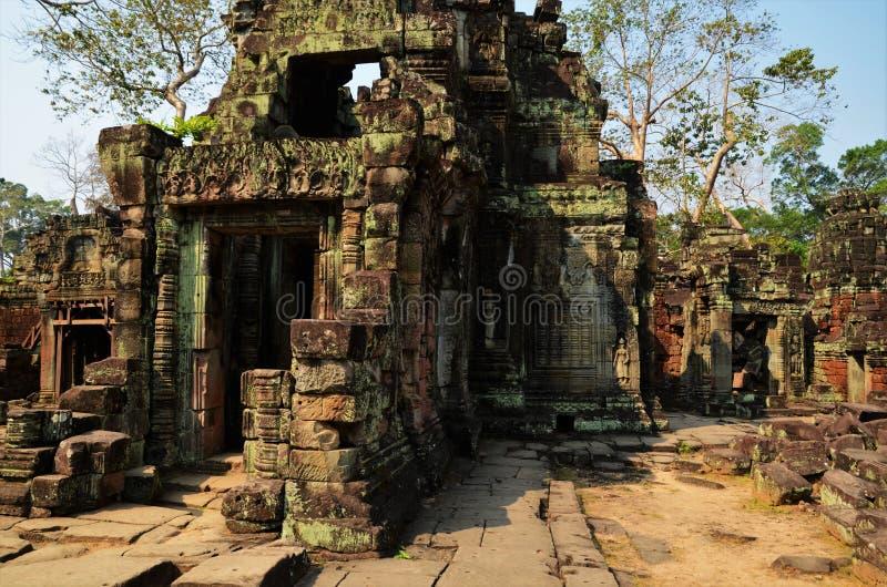 Висок Preah Khan в области Angkor Wat стоковые изображения
