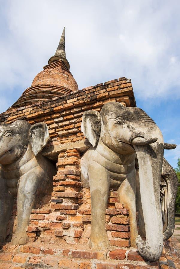 Висок Rop Chang, Таиланд стоковые фотографии rf