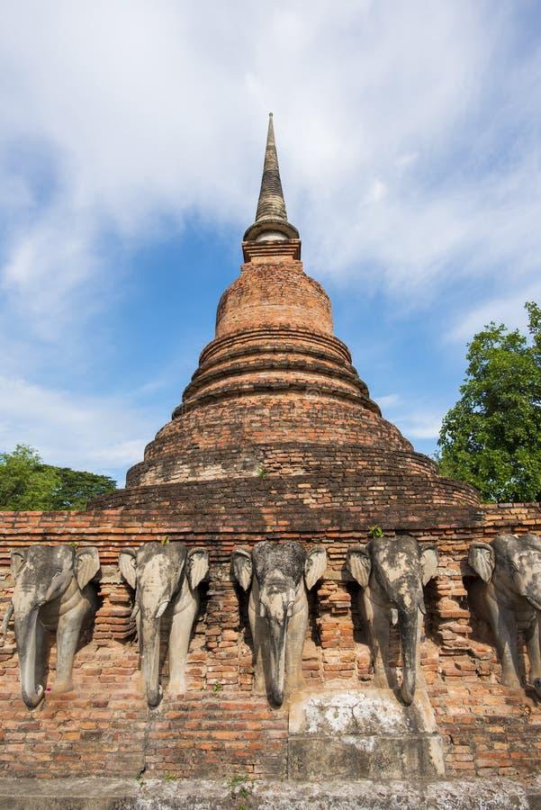 Висок Rop Chang, Таиланд стоковая фотография