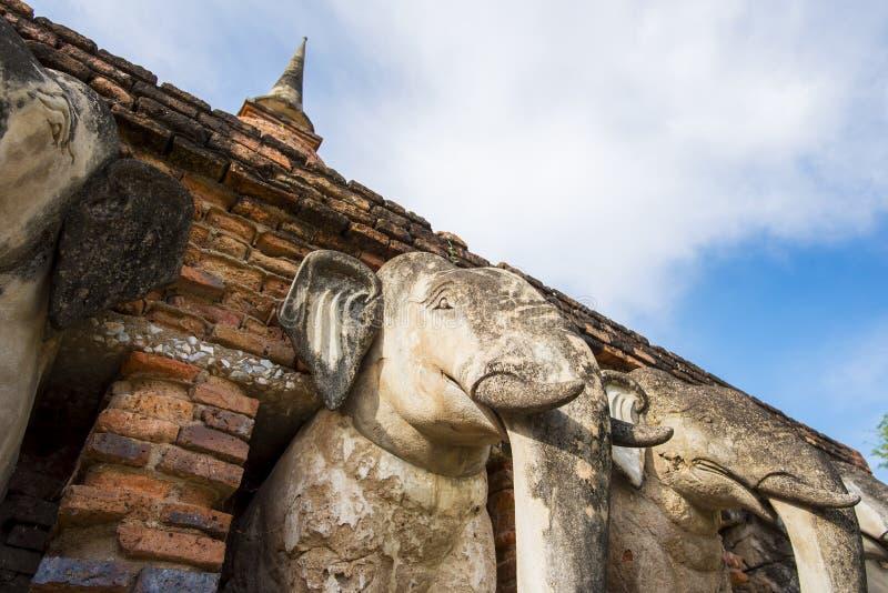 Висок Rop Chang, Таиланд стоковое фото rf