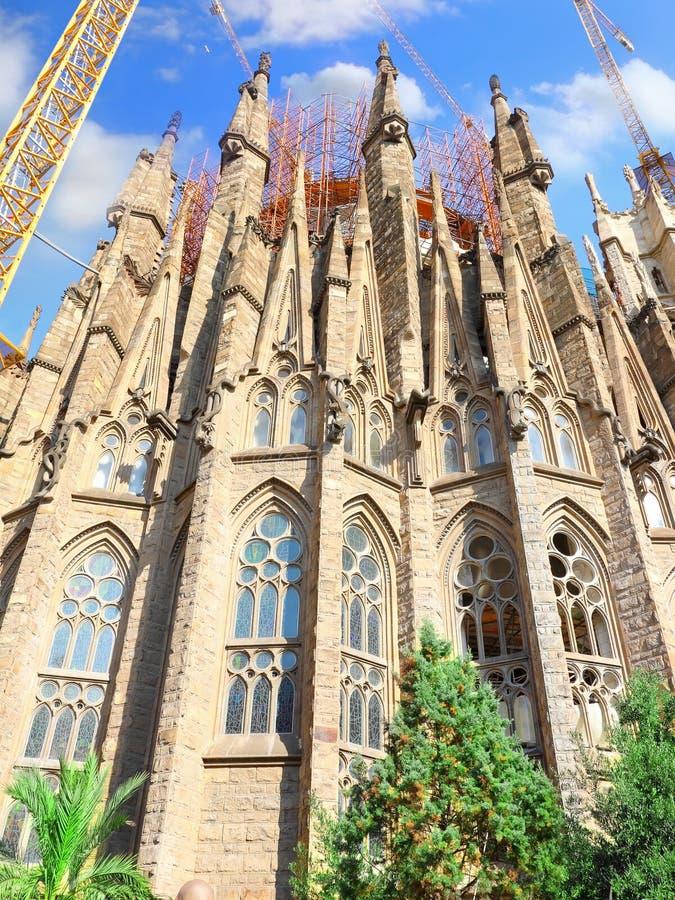 Висок Sagrada Familia.Barcelona. стоковое фото rf
