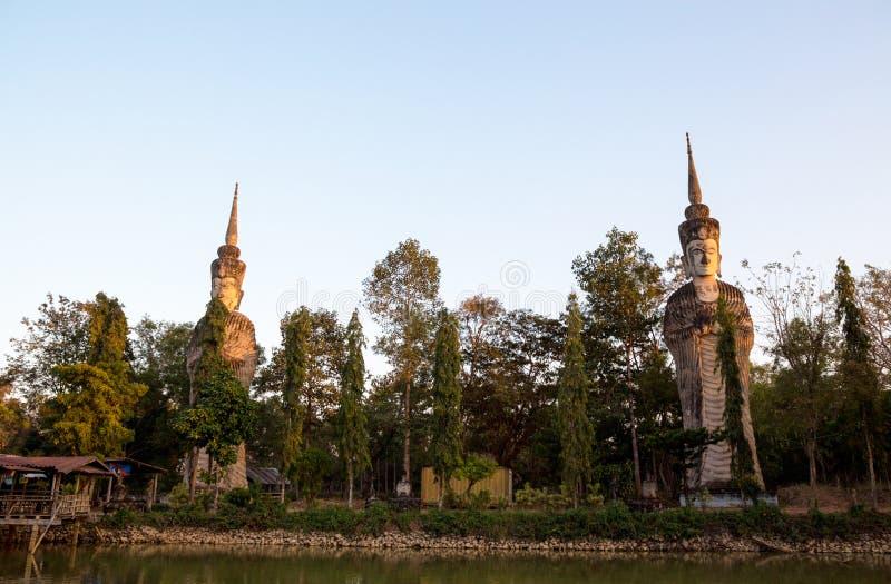 Висок Sala Keo Kou, Nong Khai, Таиланд, Азия стоковое изображение rf