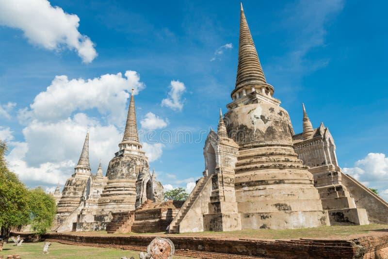 Висок sanphet sri Phra стоковая фотография rf
