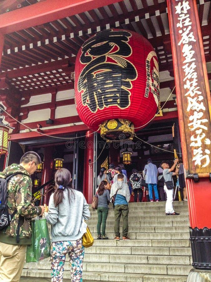 Висок Senso-ji Asakusa стоковая фотография rf