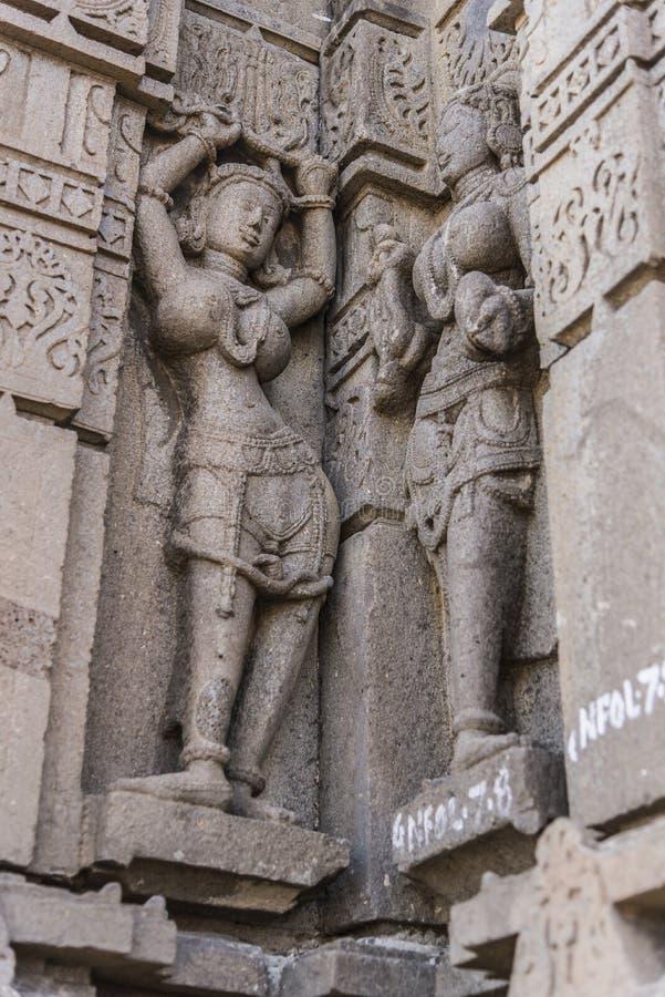 Висок shiva Hemadpanti, Hottal, махарастра стоковая фотография