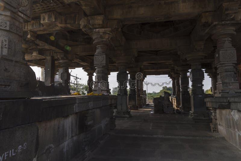 Висок shiva Hemadpanti, Hottal, махарастра стоковые фото