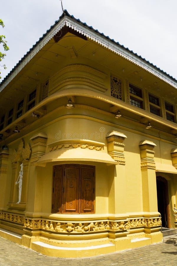висок sri lanka gangaramaya colombo стоковое изображение rf