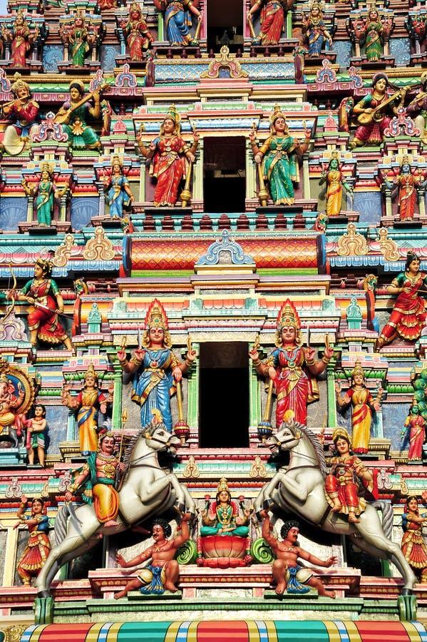 Висок Sri Maha Mariamman стоковое изображение