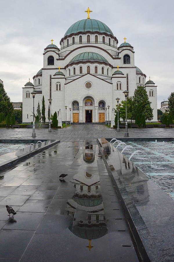 Висок St Sava стоковые изображения