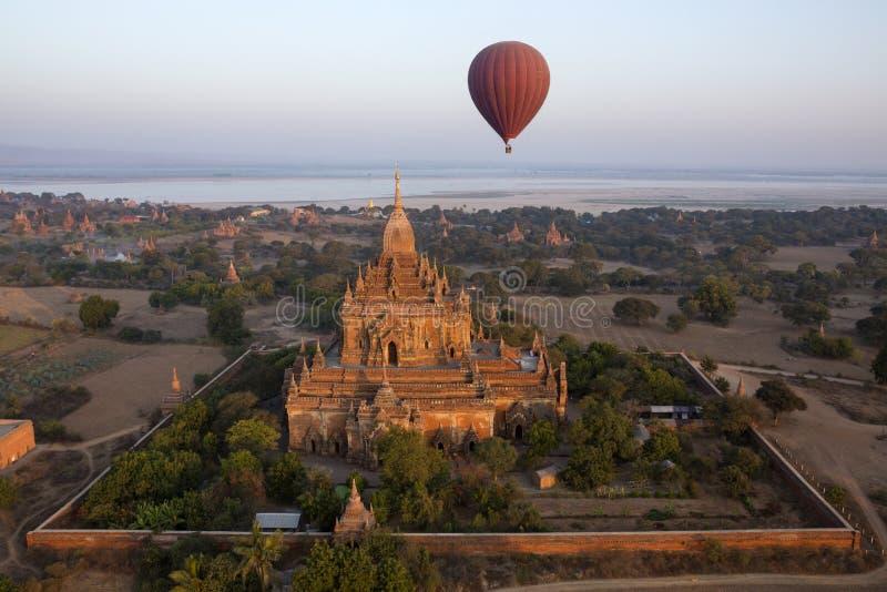 Висок Sulamani - Bagan - Myanmar стоковая фотография rf