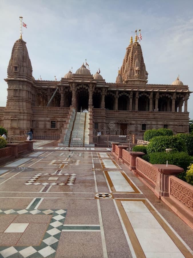 Висок Swaminarayan стоковая фотография rf
