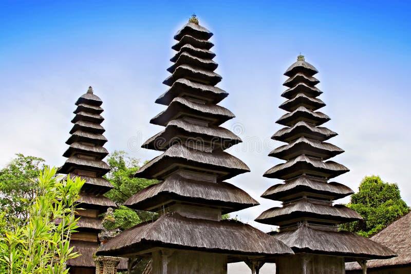 Висок Taman Ayun стоковая фотография