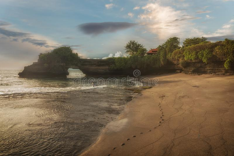 висок tanah серии bali Индонесии стоковое изображение