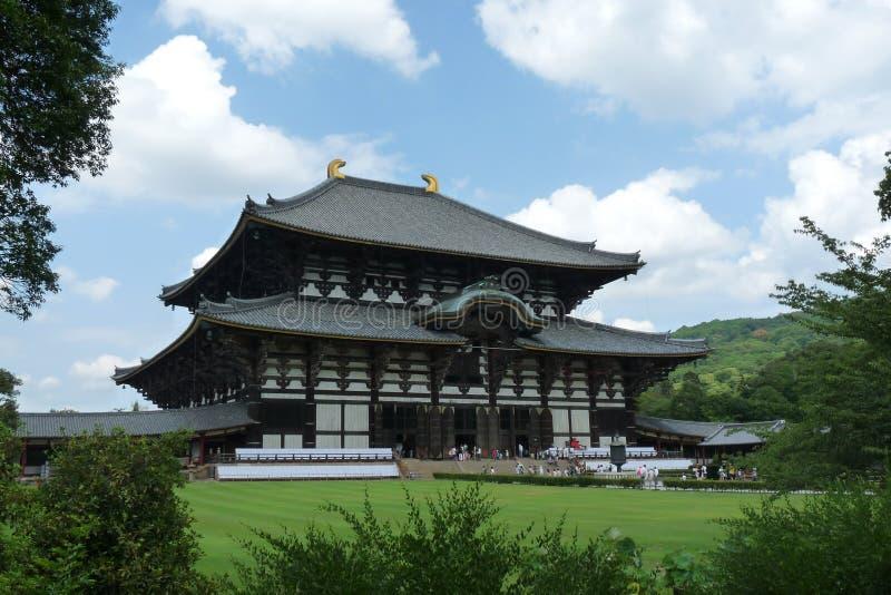 Висок Todaiji стоковое изображение rf