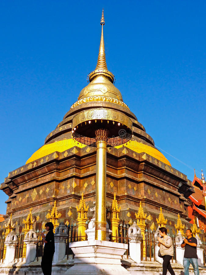 Висок Wat Phra то Lampang Luang стоковое фото rf
