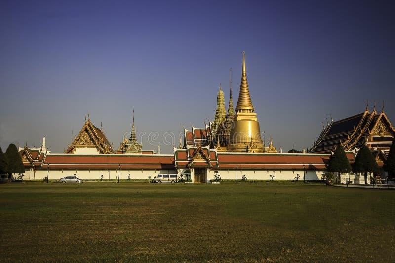 Висок Wat Phra Kaew, Таиланд стоковое изображение rf