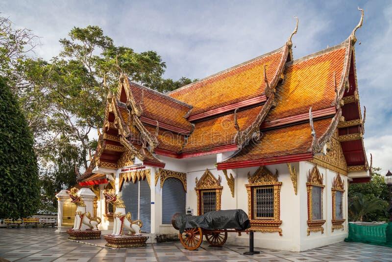 Висок Wat Phrathat Doi Suthep, Чиангмай, Таиланд стоковые фотографии rf