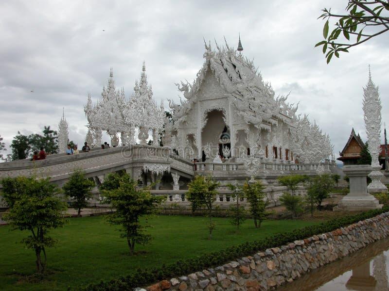 Висок Wat Rong Khun в Chiang Rai, Таиланде стоковое фото