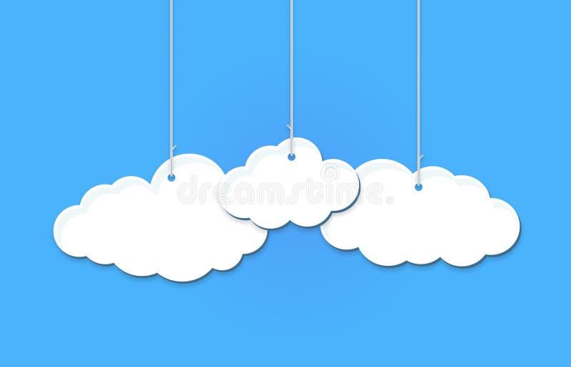 Вися облака бесплатная иллюстрация