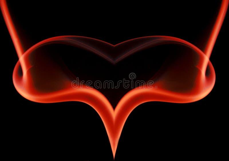 вися сердце стоковое изображение rf