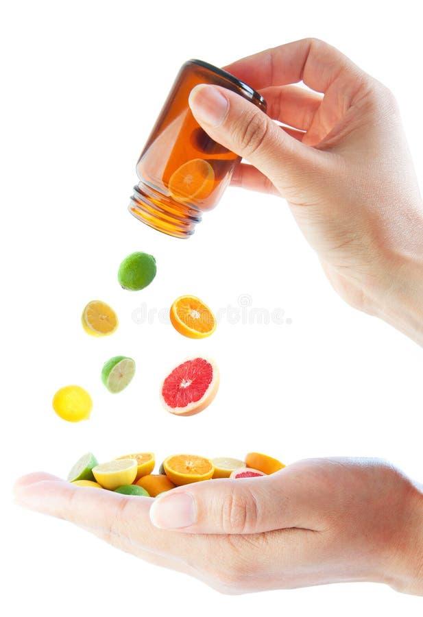 витамин типа померанцев c свежий здоровый стоковое фото