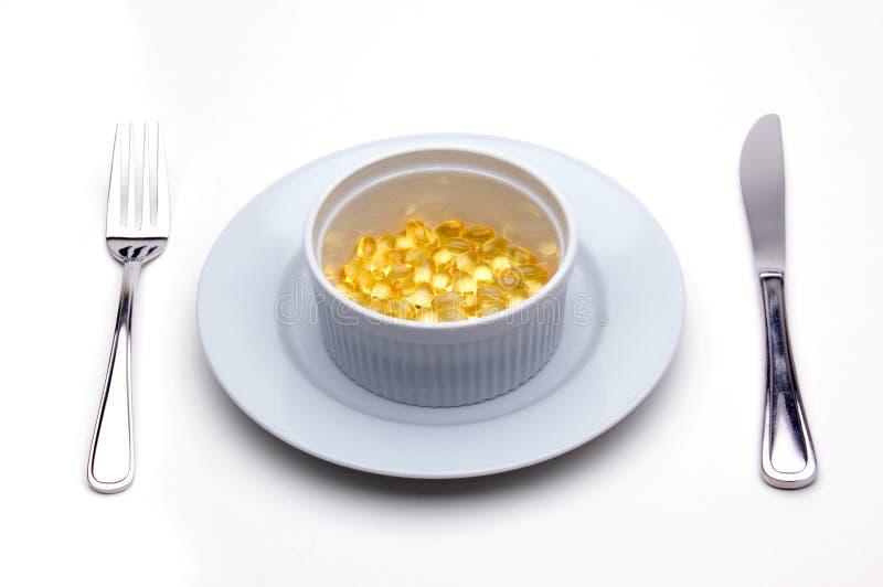 витамин токоферола обеда e стоковое фото