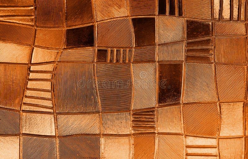 Витраж с скачками картиной блока в оттенке стоковое фото