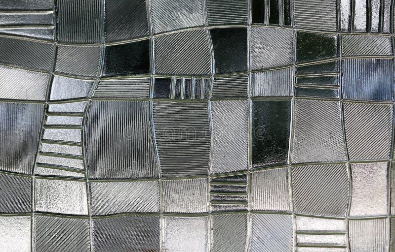 Витраж с скачками картиной блока стоковое изображение rf