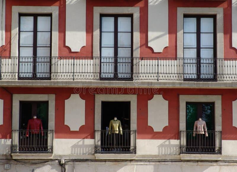 витрина фасада стоковая фотография